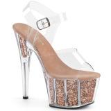 Kunstleer 18 cm ADORE 761 kinky party schoenen met hakjes