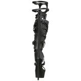 Kunstleer 15 cm DELIGHT-600-50 gladiator laars dames hoge hakken
