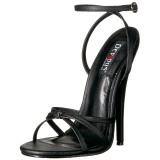 Kunstleer 15 cm DOMINA-108 fetish schoenen met naaldhak