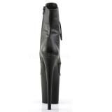 Kunstleer 20 cm FLAMINGO-1020 dames enkellaarsjes met plateauzool