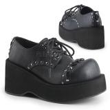 Kunstleer 8 cm DANK-110 lolita gothic schoenen met plateau