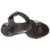 Lakleer 13 cm AMUSE-10 high heels schoenen voor travestie