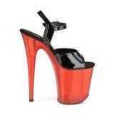 Lakleer 20 cm FLAMINGO-809T pleaser schoenen met hoge hakken