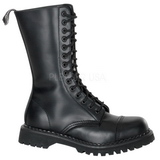 Leather ROCKY-14 Punk Ankle Boots Gothic Mens Boots
