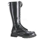 Leather ROCKY-20 Punk Boots Gothic Mens Boots