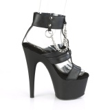 Leatherette 18 cm ADORE-761 party high heels shoes