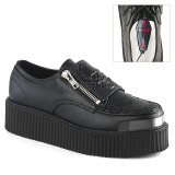 Leatherette 5 cm V-CREEPER-510 Platform Mens Creepers Shoes