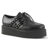 Leatherette 5 cm V-CREEPER-538 Platform Mens Creepers Shoes