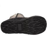 Leatherette 8,5 cm TRASHVILLE-502 Platform Mens Gothic Boots
