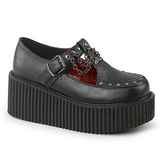 Leatherette CREEPER-215 Platform Women Creepers Shoes
