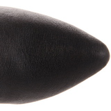Leer 10 cm VANITY-2013 Knie Hoge Dameslaarzen