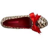 Luipaard 14,5 cm TEEZE-12 damesschoenen met hoge hak