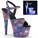 Neon 18 cm ADORE-709REFL Exotic stripper high heel shoes