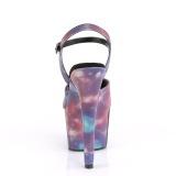 Neon 18 cm ADORE-709REFL transparante hakken - pole dance schoenen