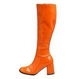 Oranje Lak 7,5 cm Funtasma GOGO-300 Dames Laarzen