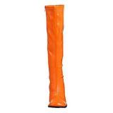 Oranje Lak 8,5 cm Funtasma GOGO-300 Dames Laarzen