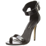 Patent 13 cm Pleaser AMUSE-10 high heeled sandals