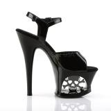Patent 18 cm MOON-709SK Platform High Heels Shoes