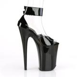 Patent 23 cm INFINITY-975 Platform High Heels Shoes