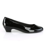 Patent 3 cm GWEN-01 pumps for mens and drag queens in black