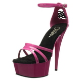 Pink 16 cm Pleaser DELIGHT-662 High Heels Platform