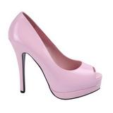 Pink Lak 13,5 cm BELLA-12 Pumps Schoenen met Naaldhakken