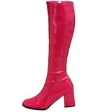 Pink Lak 8,5 cm Funtasma GOGO-300 Dames Laarzen