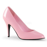 Pink Varnished 10 cm VANITY-420 pointed toe pumps high heels
