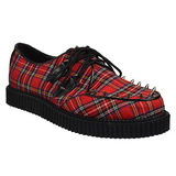 Plaid Patroon 2,5 cm CREEPER-603 Creepers Schoenen Mannen