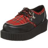 Plaid Patroon 5 cm CREEPER-113 creepers schoenen dames
