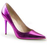 Purper Metalen 10 cm CLASSIQUE-20 grote maten stilettos schoenen