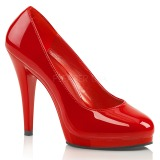 Red 11,5 cm FLAIR-480 Womens Shoes with High Heels