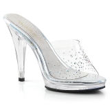 Rhinestones 11,5 cm FABULICIOUS FLAIR-401SD womens mules shoes