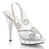 Rhinestones 13 cm LIP-149 high heeled sandals