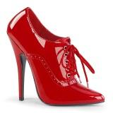 Rood 15 cm DOMINA-460 hoge hakken oxford schoenen mannen