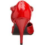 Rood Lak 10,5 cm VANITY-415 Pumps Hoge Hakken voor Mannen
