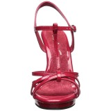Rood Lak 12 cm FLAIR-420 Dames Sandalen met Hak