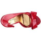 Rood Lak 12 cm LUMINA-32 Hoge Avond Pumps Schoenen met Hak