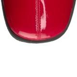 Rood Lak 8,5 cm Funtasma GOGO-306 Dames Laarzen