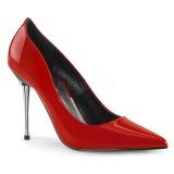 Rood Lakleer 10 cm APPEAL-20 grote maten stilettos schoenen
