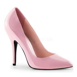 Rosa Lak 13 cm SEDUCE-420 pleaser pumps met puntneus