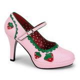 Roze 11 cm CONTESSA-58 damesschoenen met hoge hak