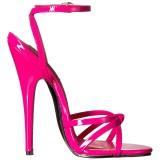 Roze 15 cm DOMINA-108 high heels schoenen voor travestie