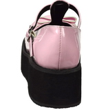 Roze 6 cm SPRITE-03 lolita schoenen met plateau