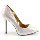 Roze Glitter 13 cm AMUSE-20G Hoge Avond Pumps Schoenen met Hak