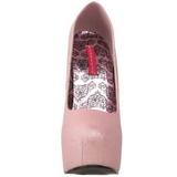 Roze Glitter 14,5 cm TEEZE-31G Platform Pumps Schoenen