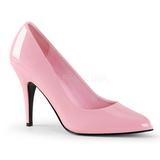Roze Lak 10 cm VANITY-420 pleaser pumps met puntneus