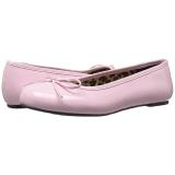 Roze Lakleer ANNA-01 grote maten ballerina´s schoenen