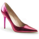 Roze Metalen 10 cm CLASSIQUE-20 grote maten stilettos schoenen