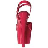 Roze Neon 18 cm Pleaser SKY-309UV Plateau Hoge Hakken